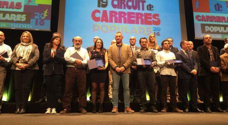 Multitudinària Gala del XIX Circuit de Carreres Populars