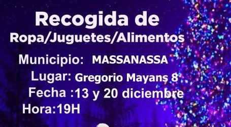 Navidades solidarias infantiles en Massanassa