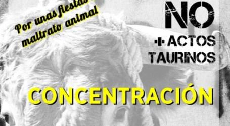 Concentración en Alfafar contra el maltrato animal