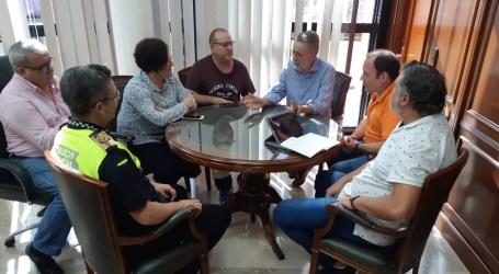 Reunió a Albal de la Junta de Coordinació d'Emergències les previsions meteorològiques