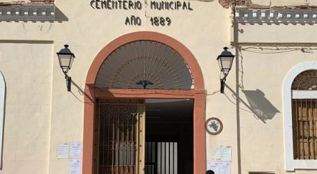 El Cementeri municipal de Catarroja rep millores de cara al  Dia de Tots Sants