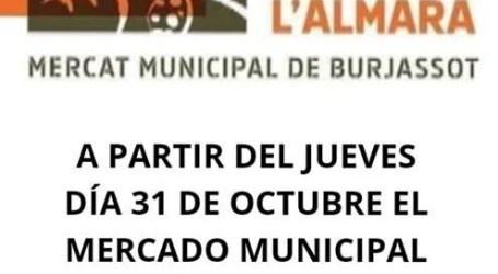 El Mercado Municipal l'Almara abrirá sus puertas todos los jueves por la tarde