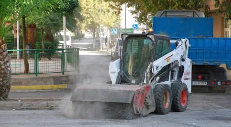 Puçol realiza numerosas obras de mejora en la vía pública