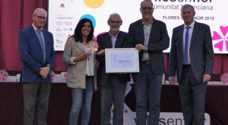 Alboraya premiada en la II Gala de Viles en Flor Comunitat Valenciana