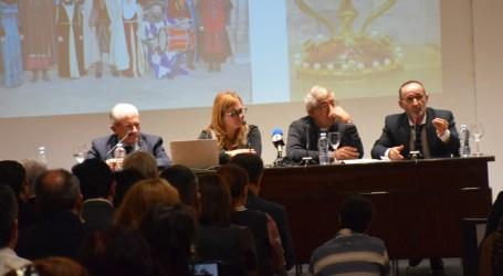 Presentación del consorcio europeo del Camino del Santo Grial en el Ateneo Mercantil de Valencia