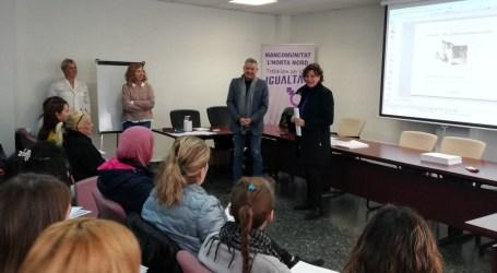 Igualdad destina 134.000 euros a la Mancomunidad de l'Horta Nord para el programa 'T'Acompanyem' de inserción socio-laboral