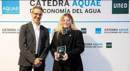 Los Premios Cátedra Aquae premian a una valenciana en la categoría de Mejor Trabajo Fin de Grado