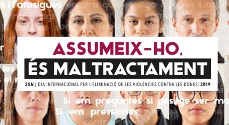La Regidoria d'Igualtat de l'Ajuntament de Picassent impulsa una nova campanya per al 25N