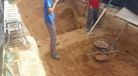 Paterna comienza la construcción de un Mausoleo en la fosa 113 del cementerio