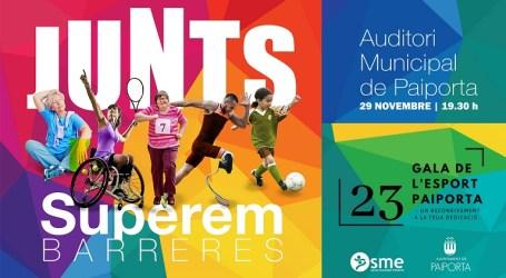 Paiporta guardonarà als millors esportistes locals en la 23a Gala de l'Esport