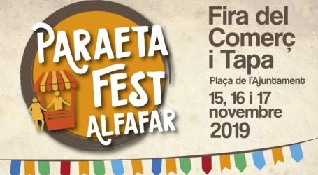 Alfafar prepara el Paraeta Fest, la Feria del Comercio y la Tapa