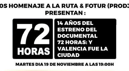 Fotur y 'Homenaje a la Ruta' reestrenan el documental que homenajea a la noche valenciana de los 80s y los 90s