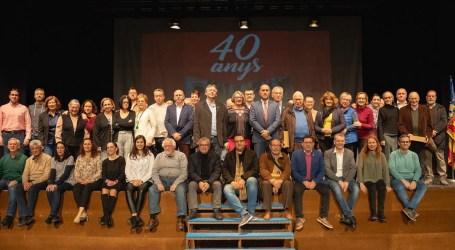 Massamagrell celebra los 40 años de democracia