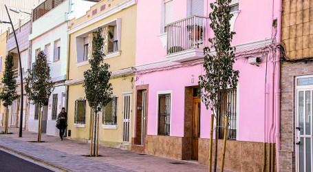 Paterna concluye las obras de la calle Jacinto Benavente