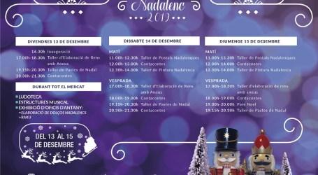 Manises torna a celebrar el seu Mercat de Nadal