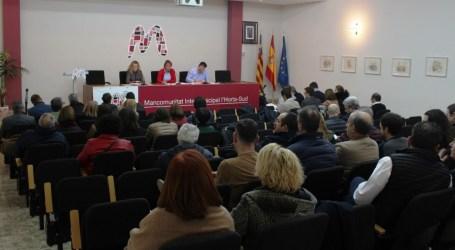 Empleo, igualdad y proyectos europeos, los ejes principales de la Mancomunitat de l'Horta Sud para el 2020