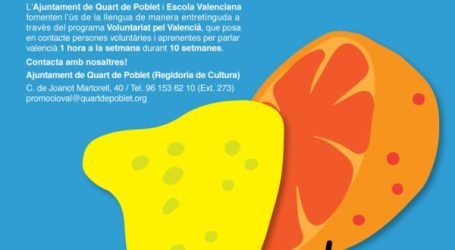 Arranca la tercera edición del 'Voluntariat pel Valencià' en Quart de Poblet
