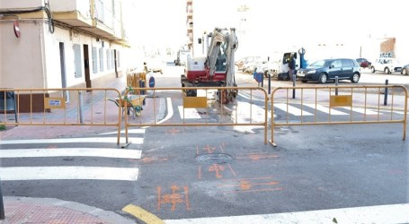 Comienzan las obras de la calle Sant Antoni de Albal