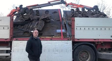 El monumento de la Ruta del Grial de Massamagrell «la última cena» ya viaja a Fitur