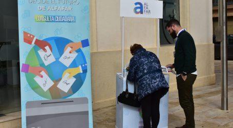 Alfafar realiza una consulta ciudadana para llevar a cabo una inversión sostenible