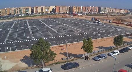 Nuevo aparcamiento con más de 500 plazas en Quart de Poblet