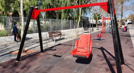 Aldaia continúa mejorando sus parques infantiles