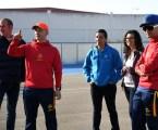 La selecció espanyola de patinatge de velocitat es prepara a Paiporta