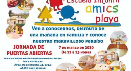 La Escuela Infantil Amics Playa de Alboraia abre sus puertas