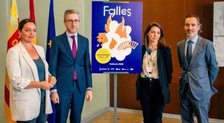 Se presenta el Abono Fallas, el título de transporte para viajar 7 días por 7 euros en Metrovalencia, MetroBus y EMT