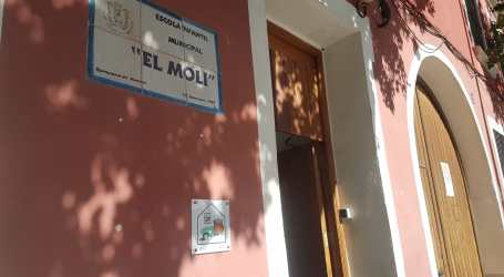 Manises passarà de 4 a 3 escoles infantils per al curs 2020/2021