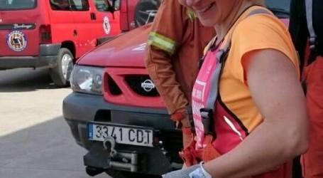 Amparo Soler, bombera del Consorcio Provincial: «Cada vegada som més dones les que ens vam decantant per accedir a aquestes professions»