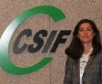 Alicia Torres, presidenta CSIF CV: «Hem de seguir vigilants per aconseguir que homes i dones gaudeixen de les mateixes oportunitats»