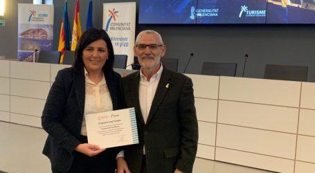 El Ayuntamiento de Alboraya recibe el distintivo Crea Turisme de Turisme Comunitat Valenciana