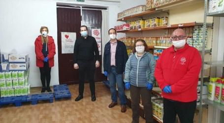 El Ayuntamiento de Aldaia hace una nueva aportación en productos de primera necesidad a Caritas