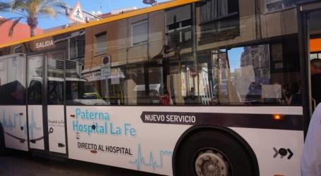 El transporte municipal de Paterna será gratuito mientras dure el estado de alarma
