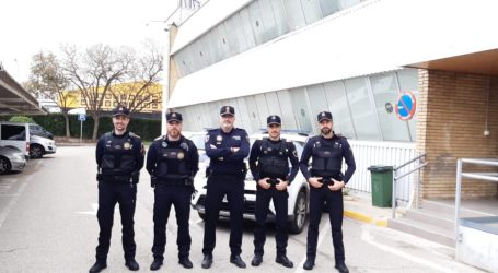 La Policía Local de Paterna refuerza su plantilla ante el COVID-19 con la incorporación de 4 nuevos agentes