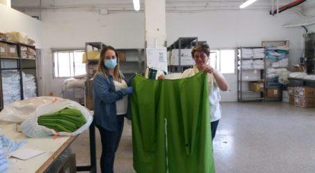 Los vecinos y vecinas de Benetússer fabrican 7.000 mascarillas para el Hospital Peset de València