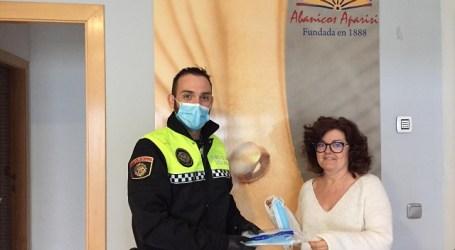 Aldaia reparte 4.000 mascarillas entre las empresas del municipio