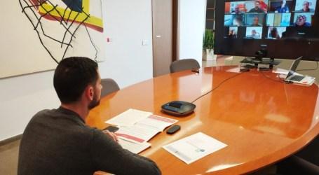 Reuniones telemática en Mislata para conocer sus inquietudes de los colectivos