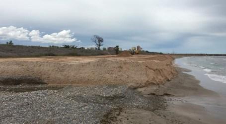 S'inicien les obres de regeneració de la platja de Massalfassar amb l'ajuda de la Demarcació de Costes