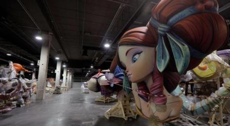 Feria Valencia acogerá en los próximos días unos 60 monumentos falleros que se encuentran en naves o casales