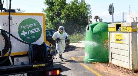 Paiporta manté el reforç en la neteja amb aigua a pressió amb actuacions a 105 carrers en l'última setmana