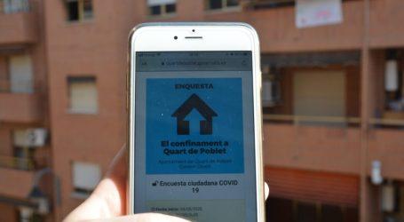 Más de 300 personas participan en la encuesta ciudadana puesta en marcha en Quart de Poblet sobre el confinamiento