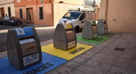 Alfafar lidera los municipios de la comarca de l'Horta Sud en reciclaje de papel y plástico en 2019