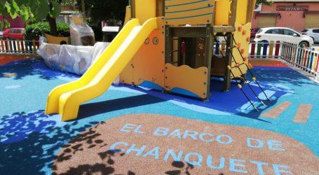 Paterna termina los trabajos de reforma del parque infantil de El Clot, se llamará «El Barco de Chanquete»