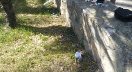 La Policía Local de Alboraya denuncia a un grupo de 10 jóvenes reunidos en la zona de la Ermita dels Peixets para fumar hachís