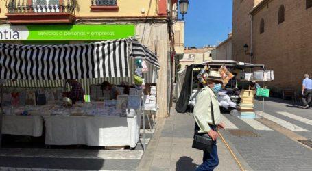 Torna a Alboraia el mercat ambulant amb mesures especials de seguretat
