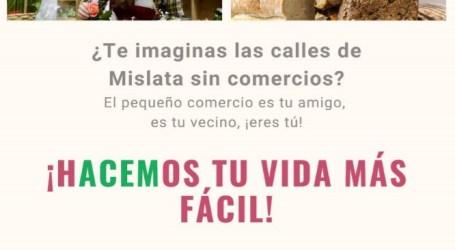 ¿Te imaginas las calles de Mislata sin comercios?, comienza una campaña de promoción del comercio local