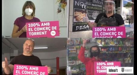 Torrent se vuelca con el comercio local en la campaña '100% amb el comerç de Torrent'