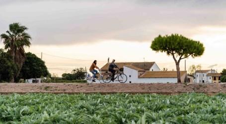 Turisme Carraixet estrena la normalidad 'slow' de la huerta como destino complementario a Valencia